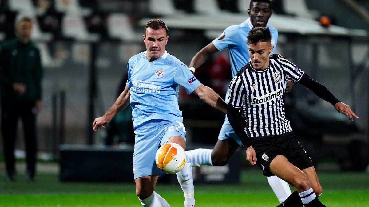 Mario Götze - PAOK Saloniki vs. PSV Eindhoven