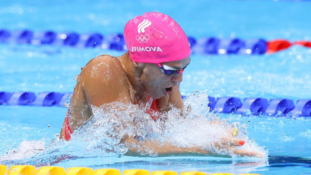 Юлия Ефимова, Россия, плавание, Олимпиада в Токио-2020