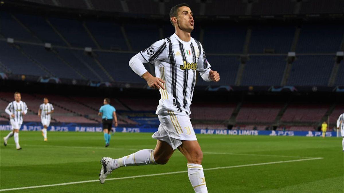 Cristiano Ronaldo - Barcellona-Juventus - Champions League 2020-2021