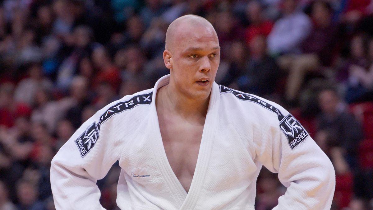 Henk Grol op de Judo Grand Slam in Dusseldorf