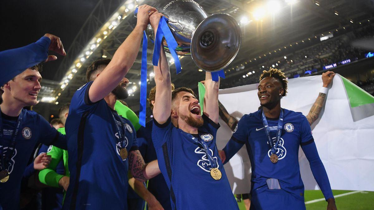Jorginho con la Champions League 2021