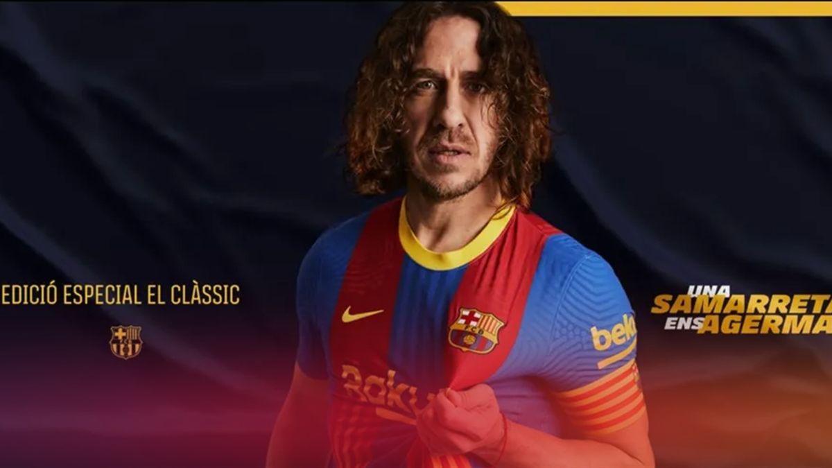Camiseta especial Clásico del FC Barcelona