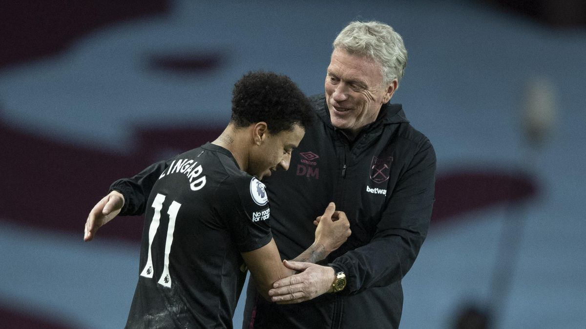Jesse Lingard: David Moyes hope Manchester United midfielder will extend his West Ham stay - Eurosport