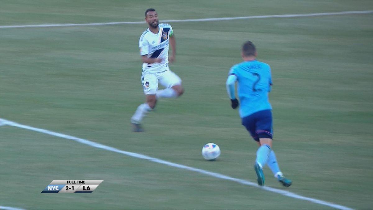 MLS : New York City FC v Los Angeles Galaxy