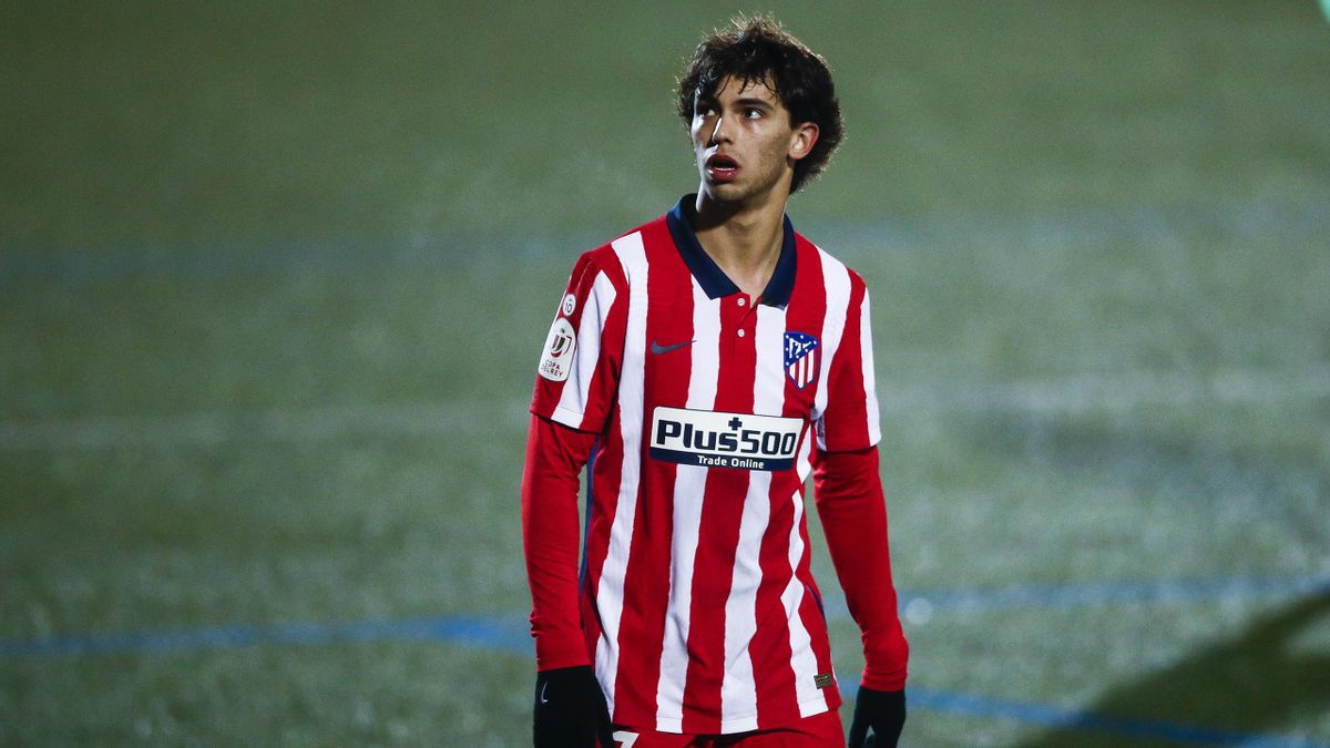João Félix und seine Mitspieler bei Atlético haben am Samstag unfreiwillig spielfrei