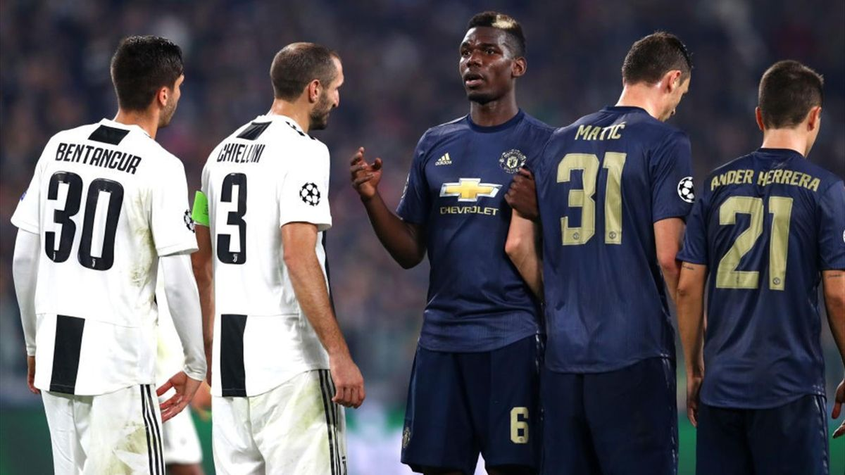 Pogba - Juventus-Manchester United - Champions League 2018/2019 - Getty Images