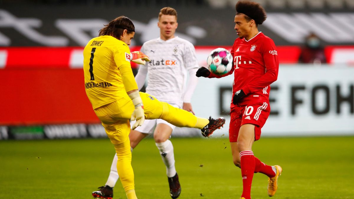 Borussia Mönchengladbach gegen FC Bayern