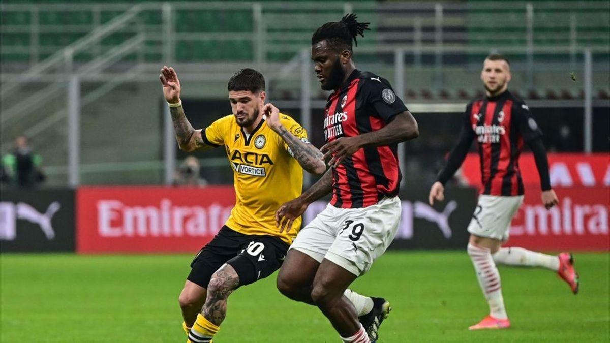 Franck Kessié - Milan-Udinese Serie A 2020-21