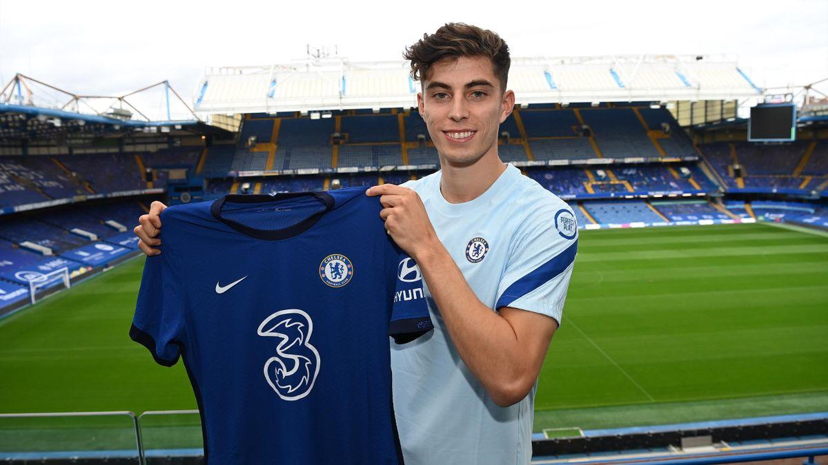 Chelsea sign Kai Havertz to continue bumper summer - Eurosport