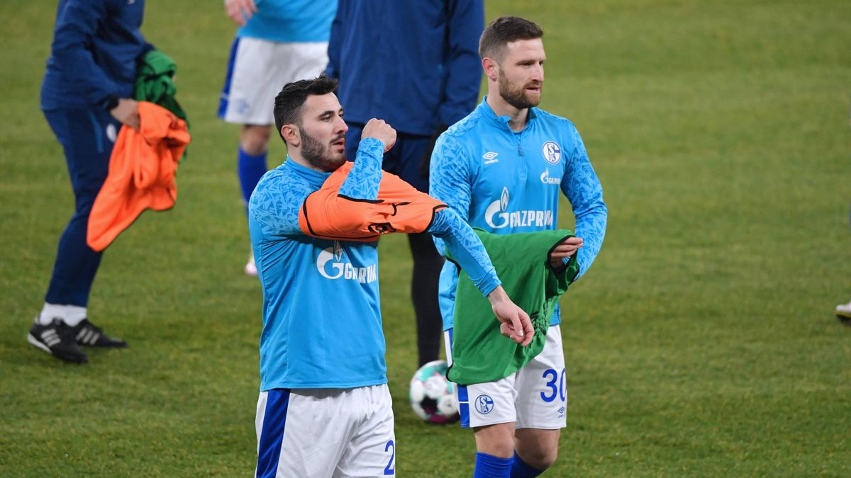Sead Kolasinac (links) und Shkodran Mustafi - FC Schalke 04