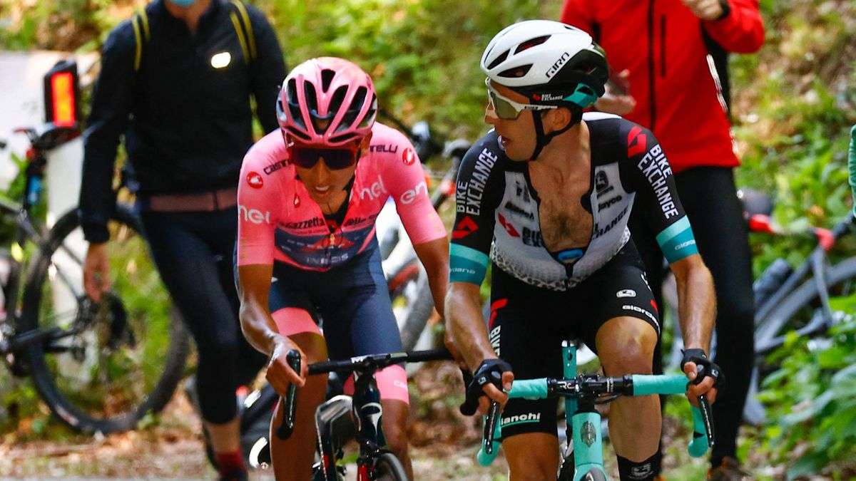 'A little smile on his face!' – Yates closes on Bernal in GC as Martin wins Stage 17
