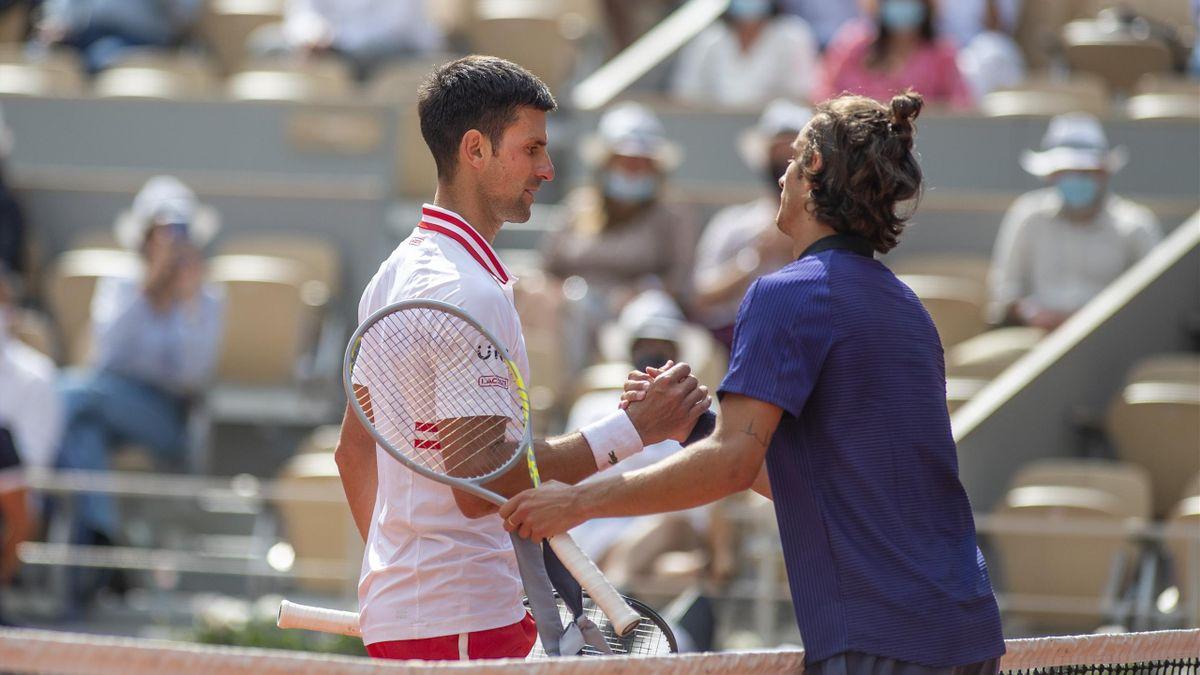 Novak Djokovic i Lorenzo Musetti