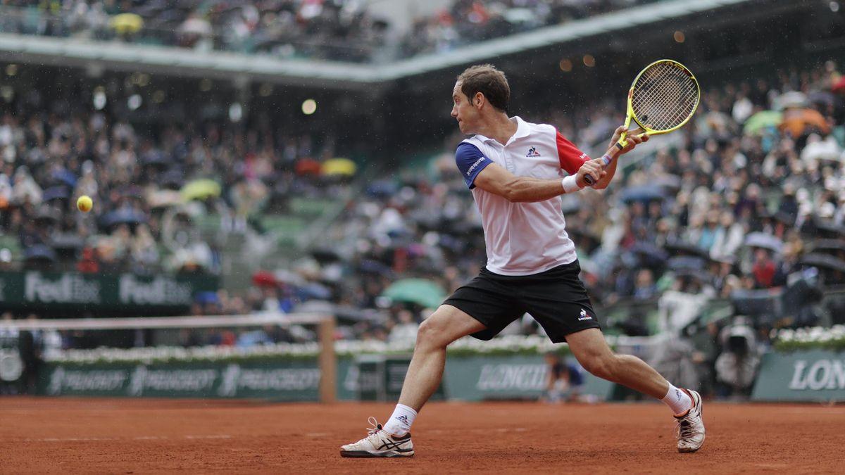 Richard Gasquet à Roland-Garros en 2016.
