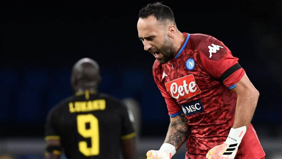 Ospina - Napoli-Inter - Coppa Italia 2019-2020 - Getty Images
