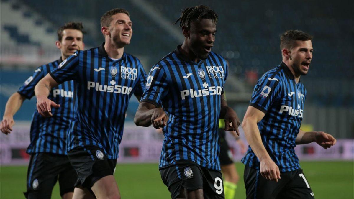 Zapata - Atalanta-Napoli - Serie A 2020/2021 - Getty Images