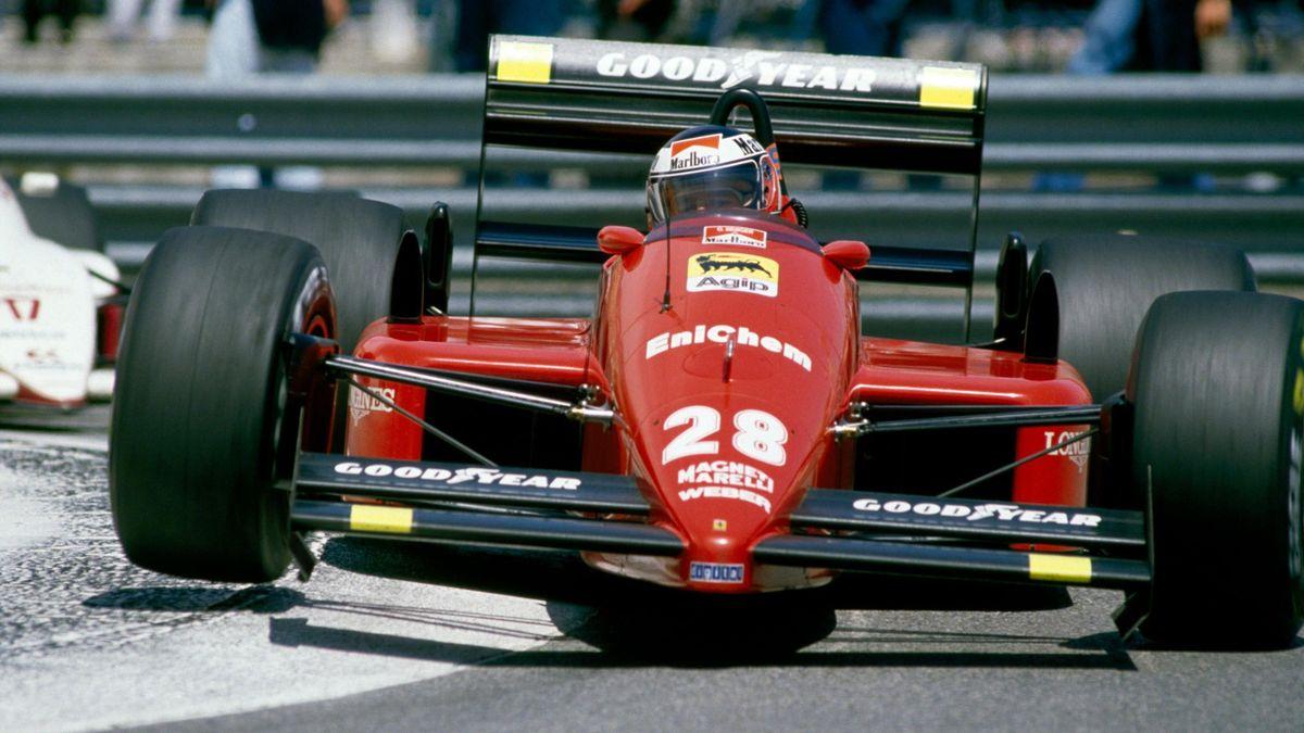 Gerhard Berger (Ferrari) - GP of Monaco 1988