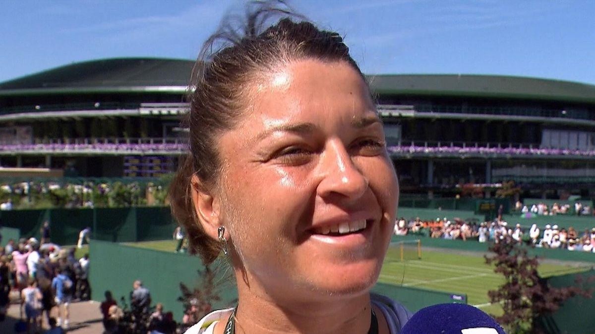 Wimbledon - Interview Alexandra Dulgheru