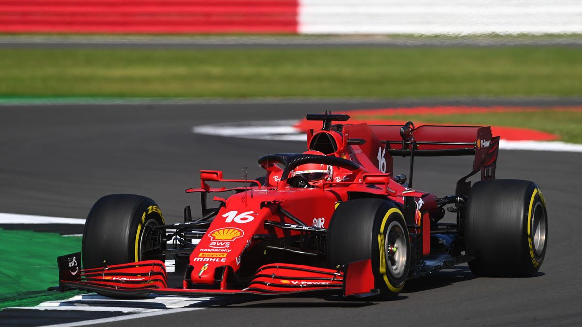 Charles Leclerc, Ferrari, GP Silverstone, Getty Images