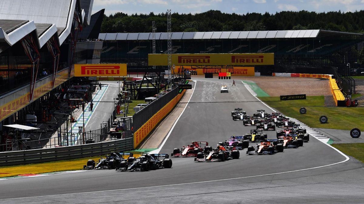 Das erste Sprintrennen in dieser Formel-1-Saison wird in Silverstone ausgetragen