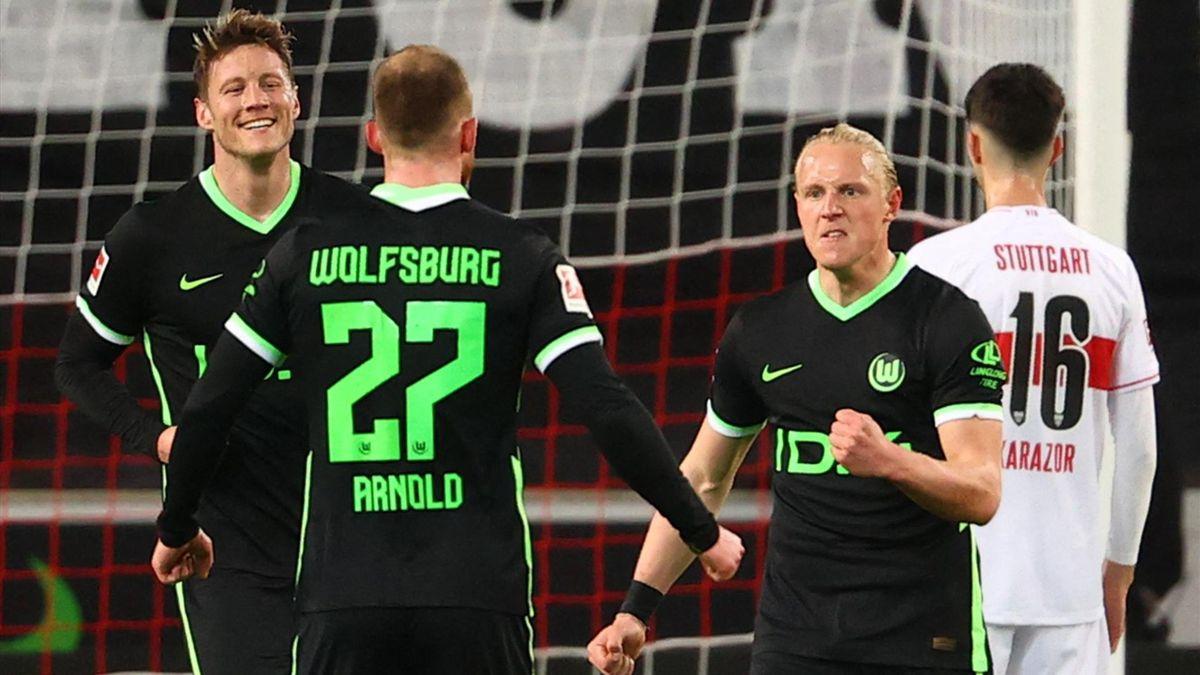 Wolfsburg siegt beim VfB Stuttgart