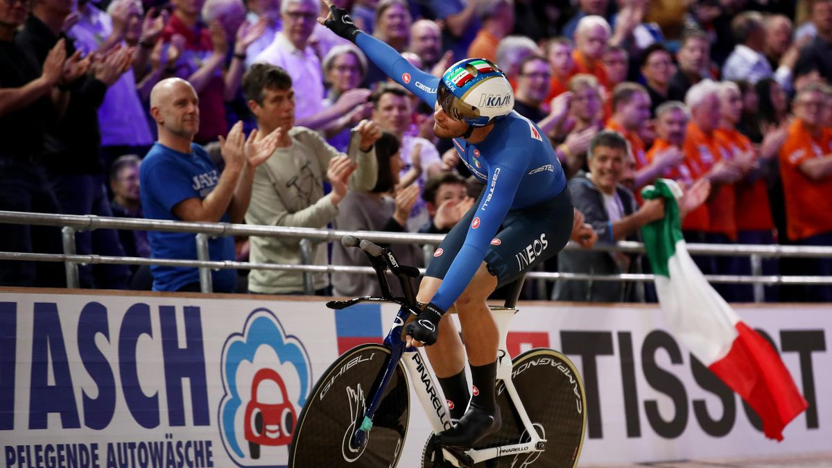 Filippo Ganna - final individual pursuit 2020 Berlin - Getty Images