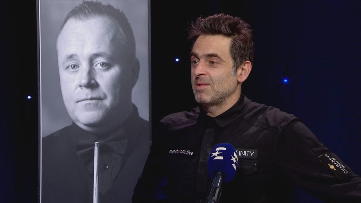 Snooker Northern Ireland Open: Interview in studio of Ronnie O'Sullivan after his win against Carter