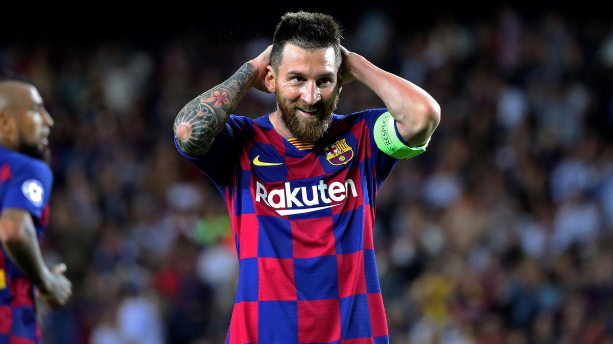 Messi, en el Barça-Inter