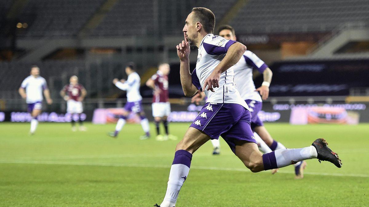 Franck Ribéry bejubelt sein 150. Karriere-Tor