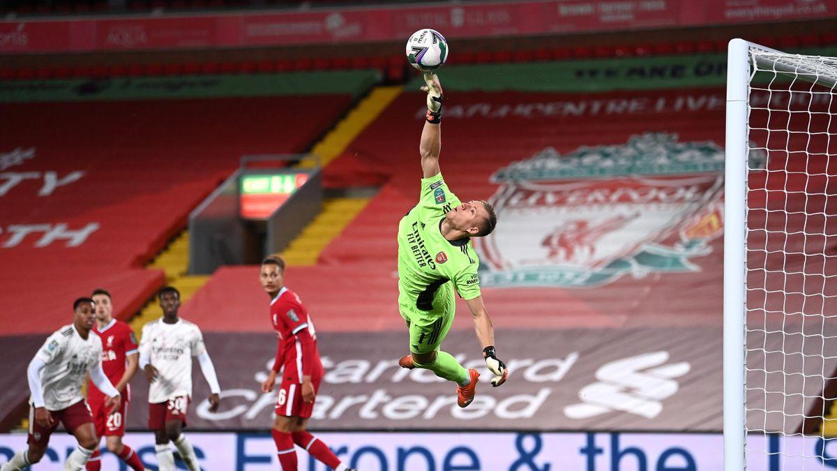 Bernd Leno, Liverpool – Arsenal