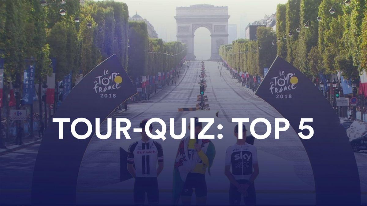 Tour-Quiz: Top 5
