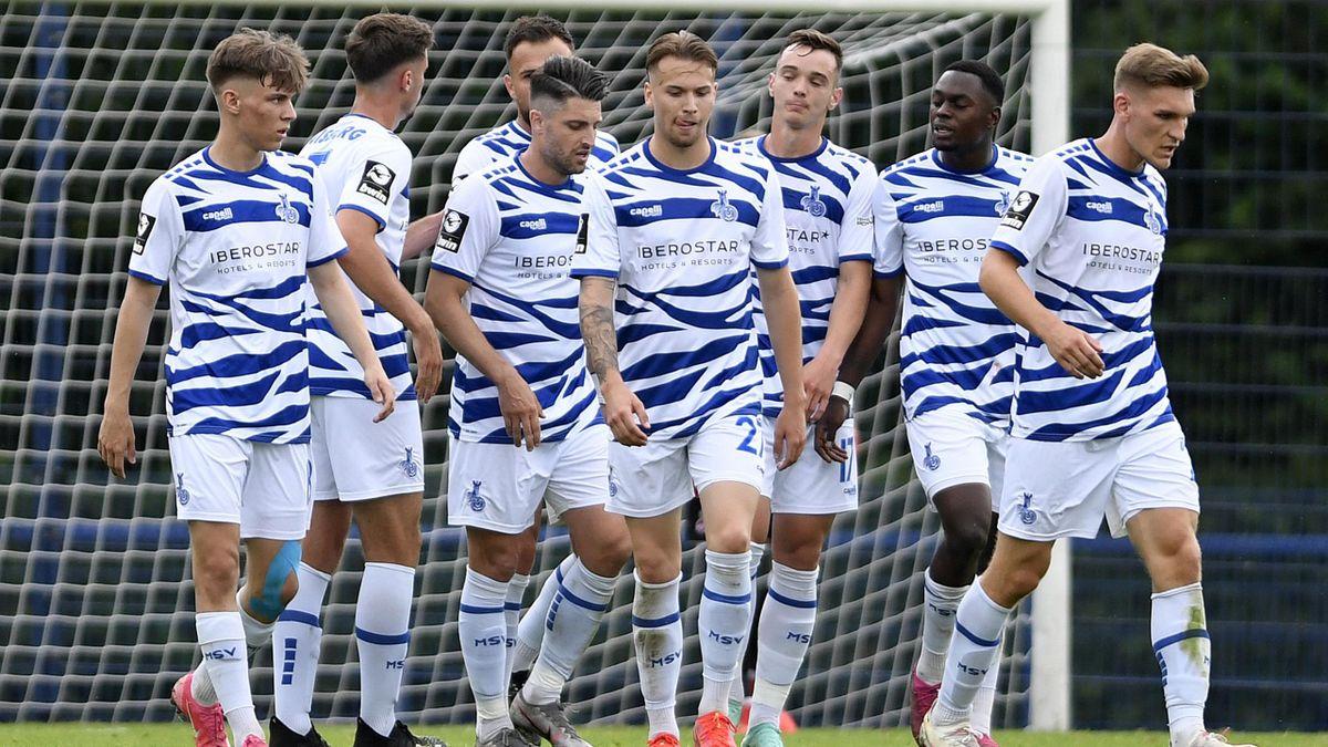 Das Eröffnungsspiel der dritten Liga ist aufgrund der Quarantäne vom MSV Duisburg abgesagt.