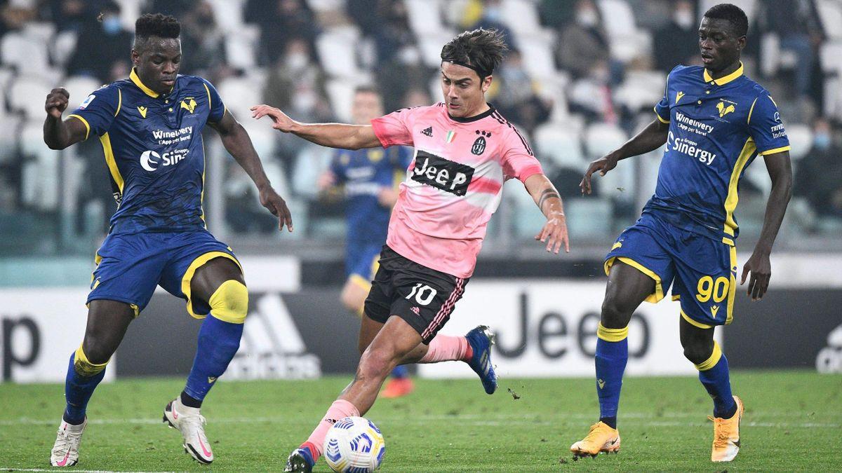 Paulo Dybala (Juventus Turin) contre le Hellas Vérone / Serie A