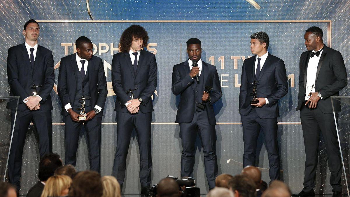 Huit joueurs parisiens dans l'équipe type de la L1 2015-2016