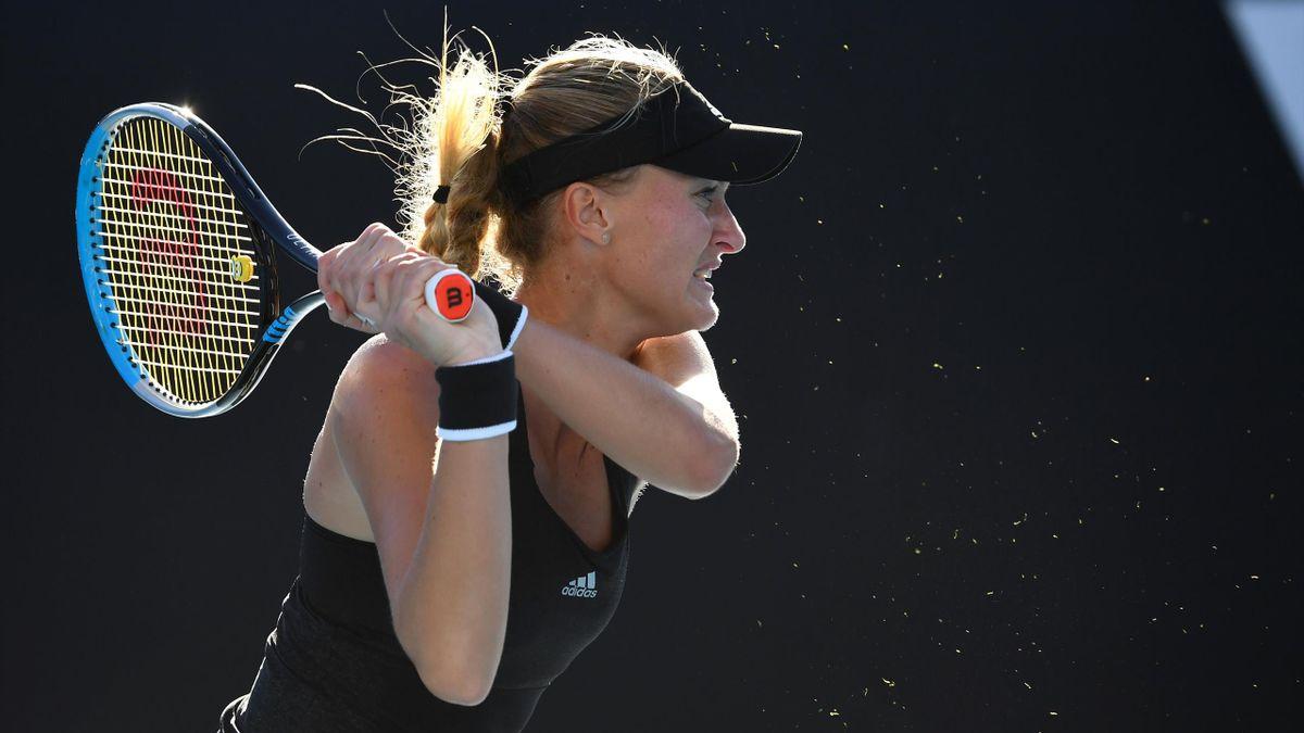 Kristina Mladenovic, Melbourne 2021