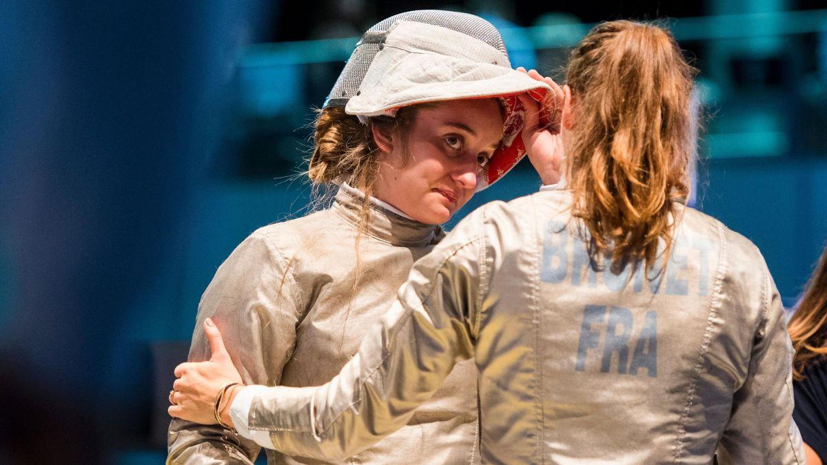Caroline Queroli et Manon Brunet - Mondiaux 2017