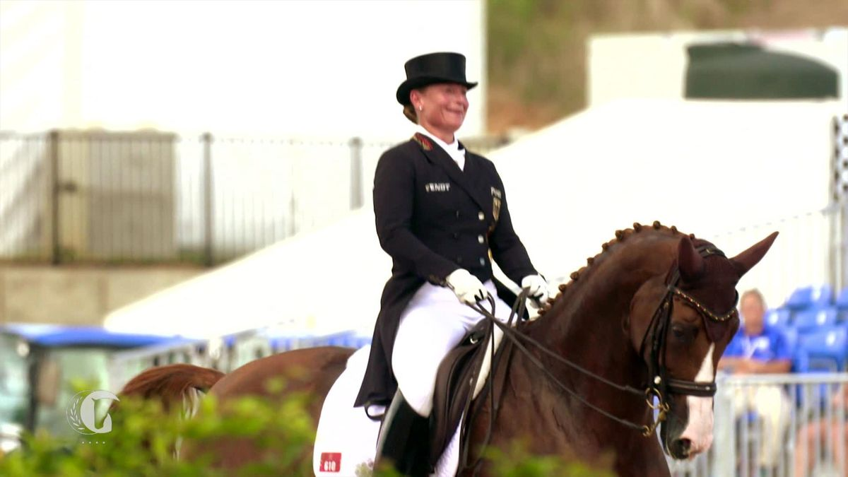 Horse Excellence : Gold for Germany in dressage