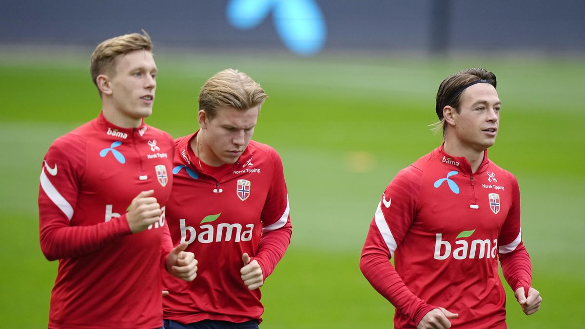 Marcus Holmgren Pedersen, Jens Petter Hauge og Patrick Berg