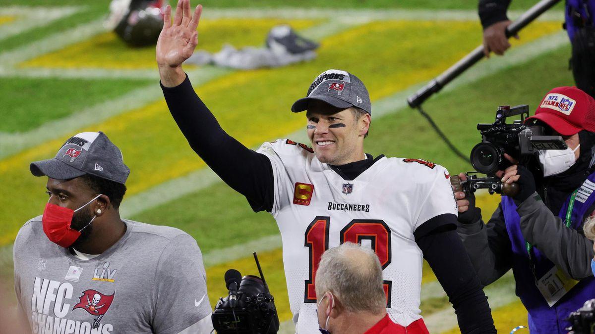 Tom Brady steht zum zehnten Mal im Super Bowl