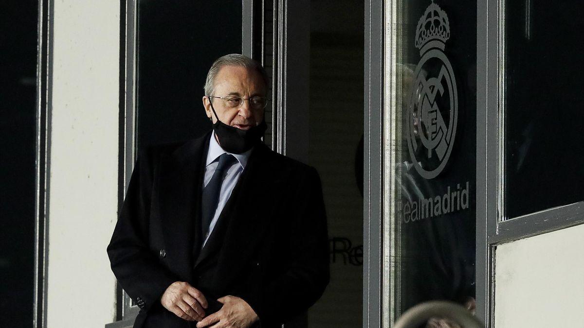 Real-Präsiedent Florentino Pérez soll Vorsitzender der Super League werden