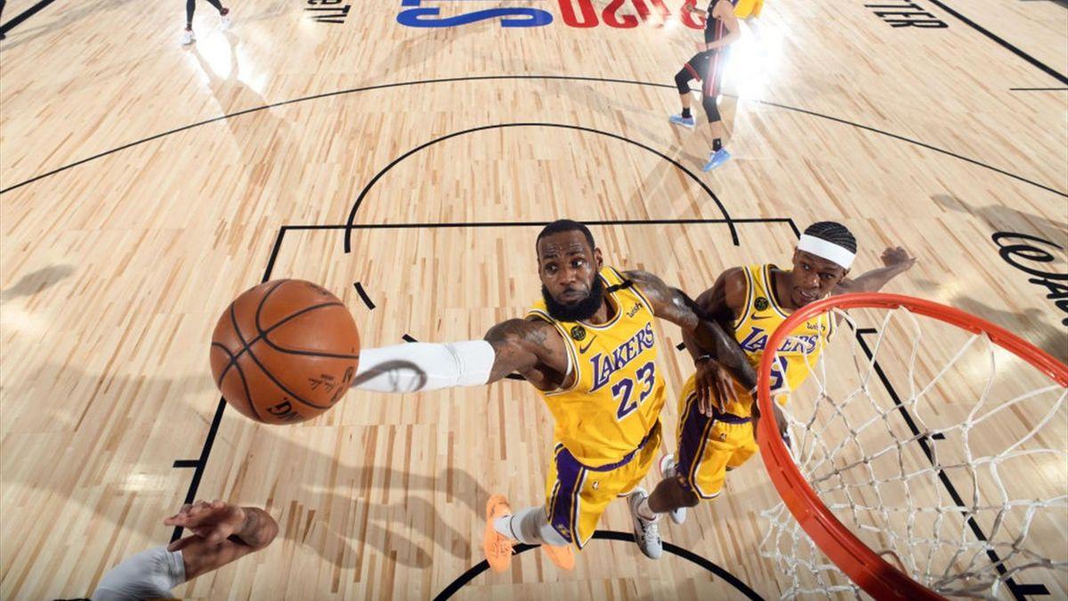 LeBron James in den NBA Finals 2020