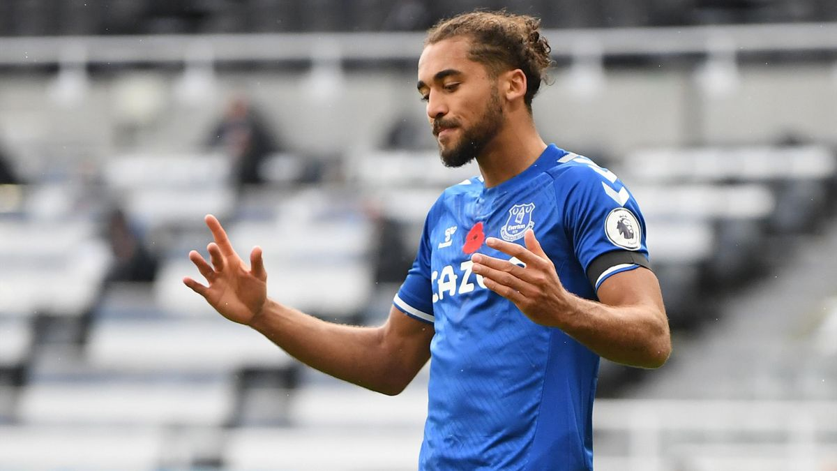 La frustration de Dominic Calvert-Lewin (Everton) face à Newcastle