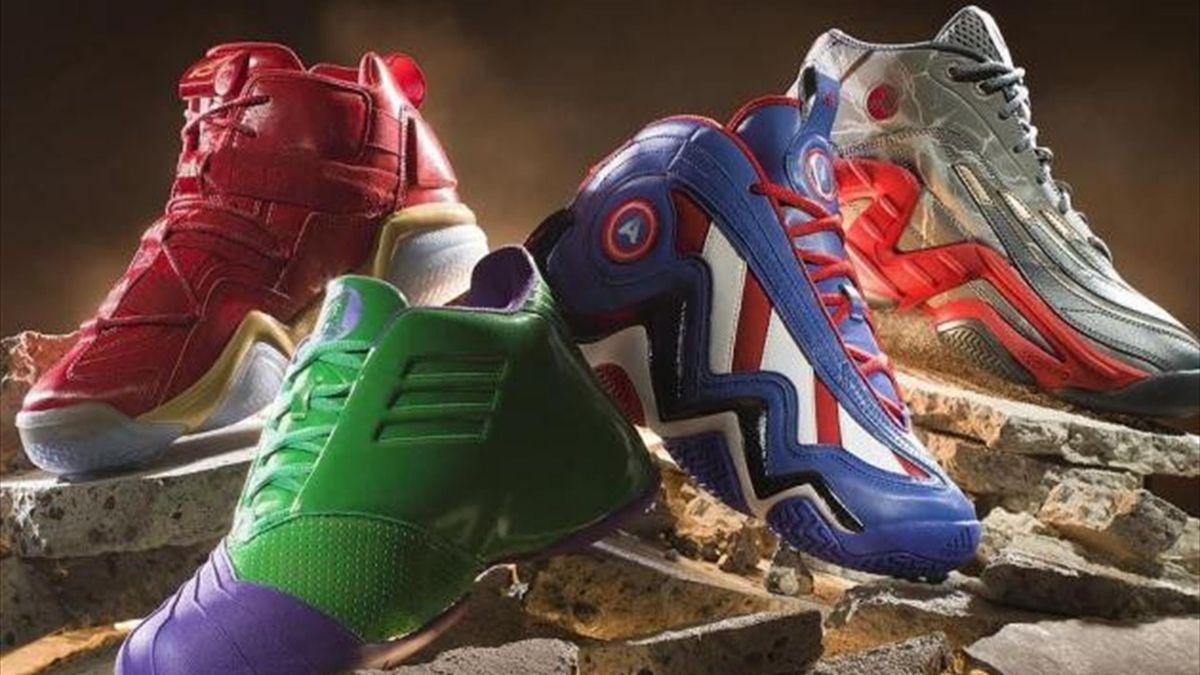 Portal atributo triple  Adidas saca una edición limitada de 'Los Vengadores' - Eurosport