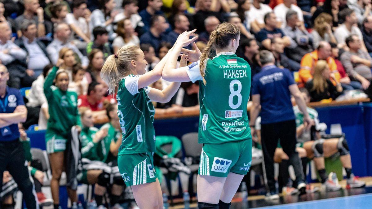 Stine Oftedal és Anne Mette Hansen