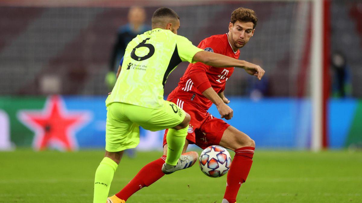 Goretzka (Bayern) and Koke (Atletico) - Champions League 2020/21