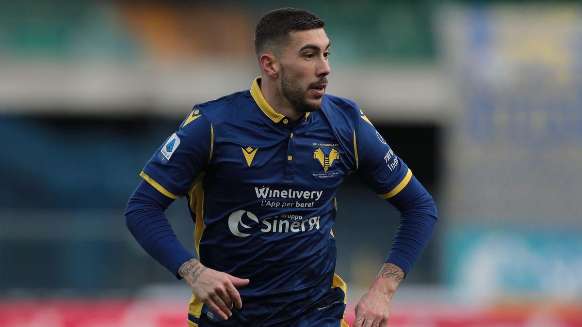Hellas Verona-Crotone, Serie A 2020-2021: Mattia Zaccagni (Hellas Verona) (Getty Images)