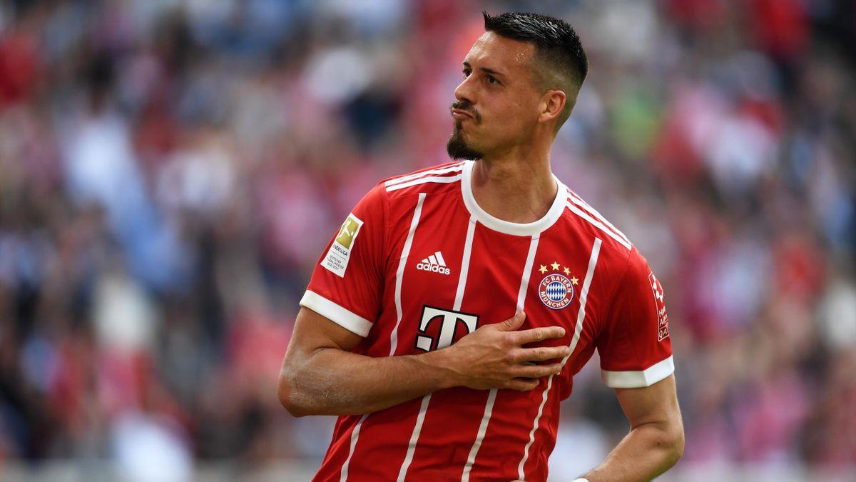Sandro Wagner im Trikot des FC Bayern
