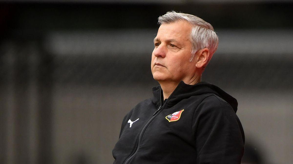 Bruno Genesio, le coach du Stade Rennais