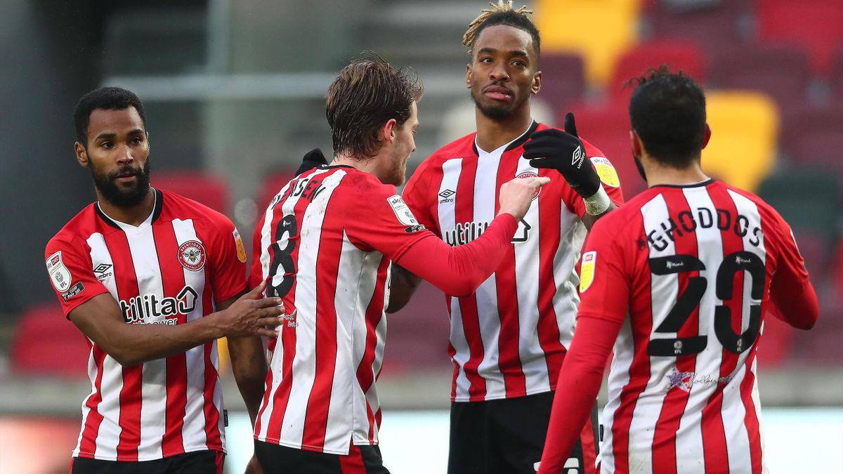 Brentford are gunning for a place in the Premier League