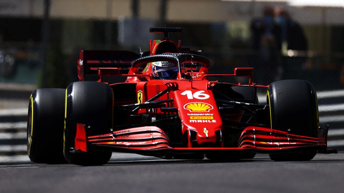 Charles Leclerc (Ferrari) in Monaco