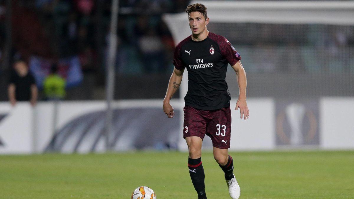 Mattia Caldara - Dudelange-Milan - Europa League 2018/2019 - Imago
